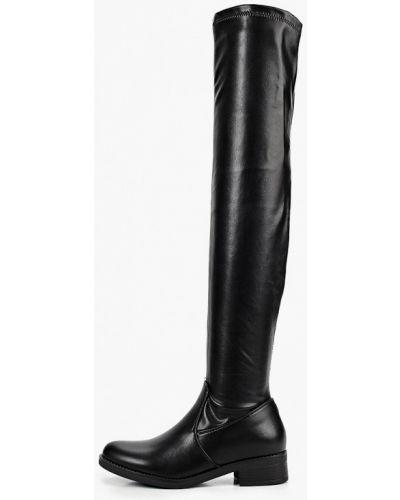 Кожаные черные пинетки Sweet Shoes