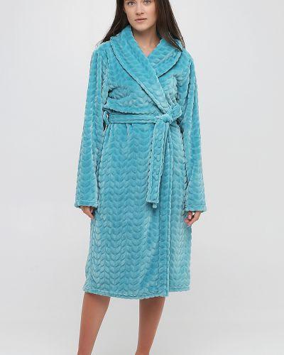 Домашний халат - бирюзовый Naviale