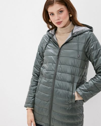 Зеленая теплая куртка снежная королева