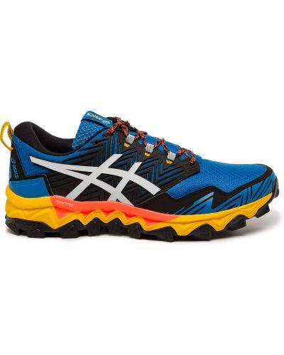 Нейлоновые синие кроссовки с подкладкой Asics