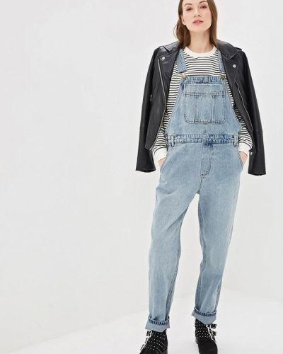 Голубой джинсовый комбинезон Billabong
