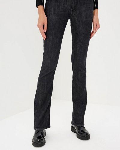 Черные прямые джинсы Frankie Morello
