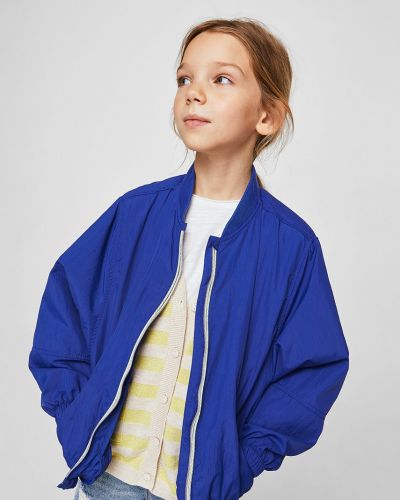 Синяя куртка Mango Kids