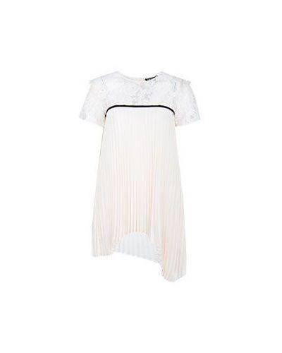 Блузка кружевная белая Twinset