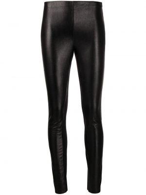Облегающие черные леггинсы эластичные Karl Lagerfeld