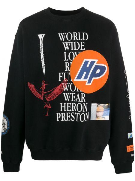 Bluza z logo Heron Preston
