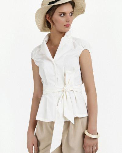 Белая рубашка с коротким рукавом Audrey Right