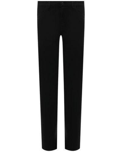 Черные хлопковые джинсы Pietro Brunelli