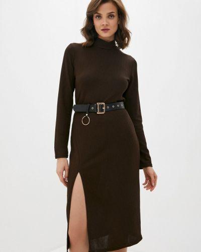 Платье - коричневое Allegri