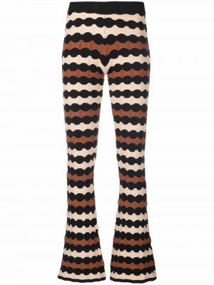 Трикотажные брюки - черные Dodo Bar Or