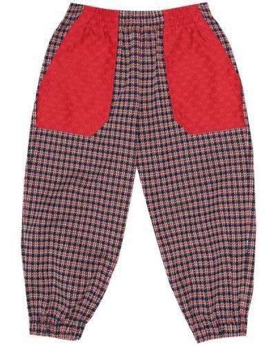 Bawełna bawełna spodnie Gucci Kids