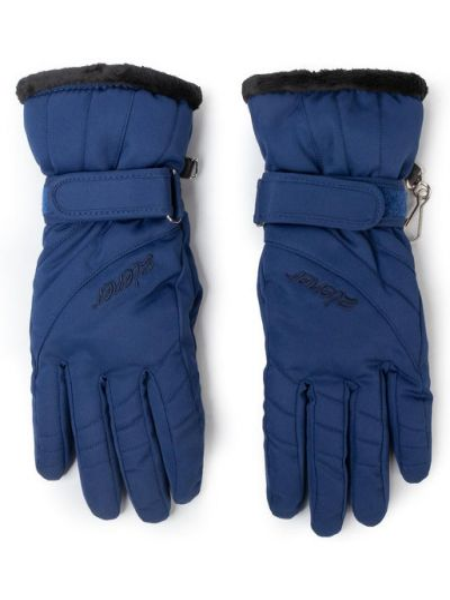 Rękawiczki narciarskie - granatowe Ziener