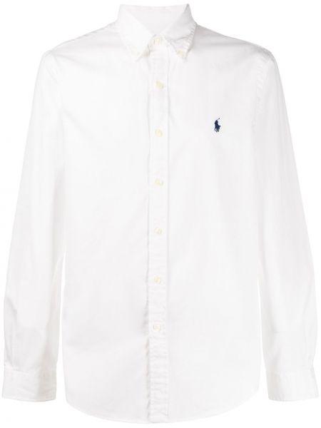 Koszula z długim rękawem długa z kołnierzem Ralph Lauren