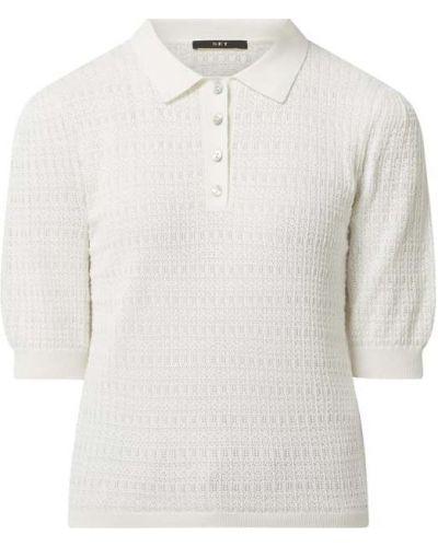 Biały t-shirt bawełniany krótki rękaw Set