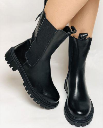 Кожаные ботинки челси Farinni