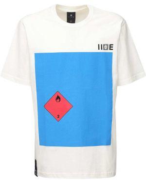 Biały t-shirt bawełniany Iise