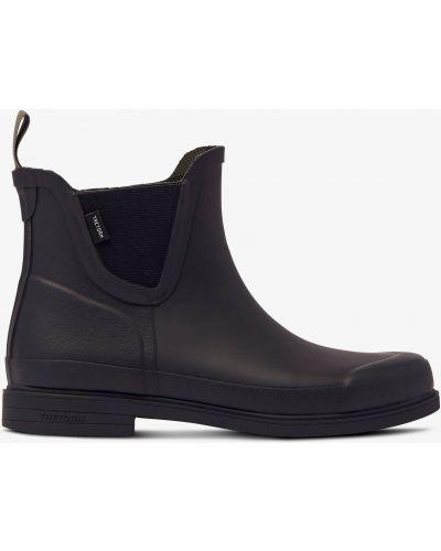 Резиновые сапоги на каблуке - черные Tretorn