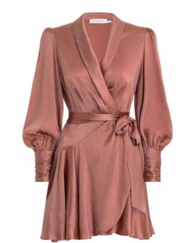 Różowa sukienka Zimmermann