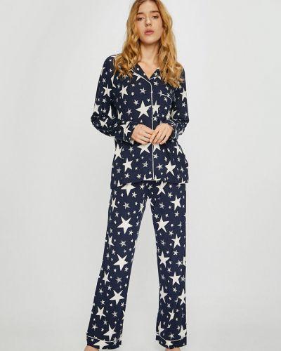 Пижама с карманами темно-синий Chelsea Peers