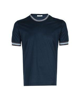 Синяя футболка Cortigiani