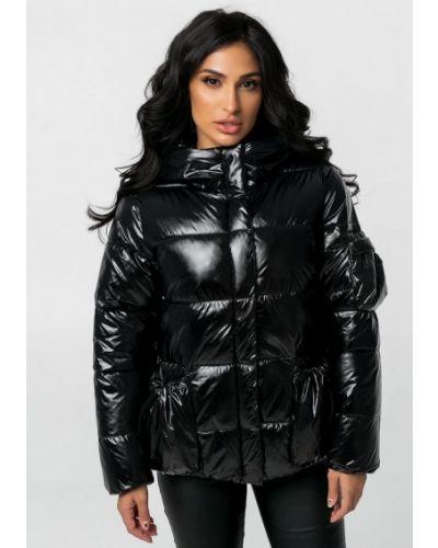 Теплая черная куртка Whitefox