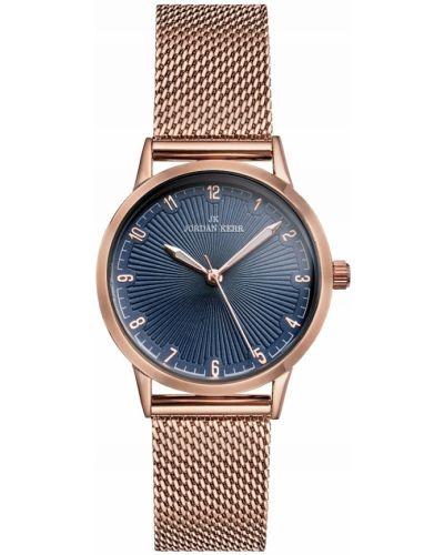 Klasyczny różowy złoty zegarek Jordan Kerr