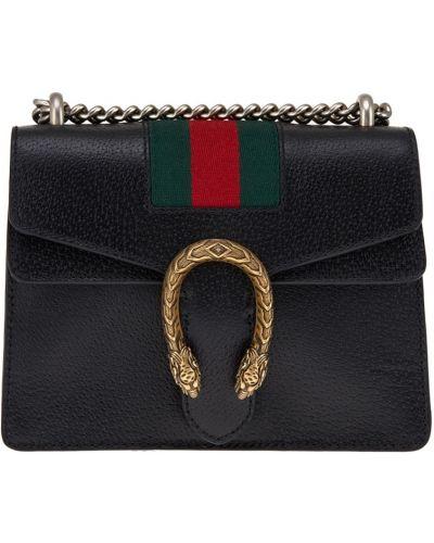 Маленькая сумка с пряжкой кожаный Gucci