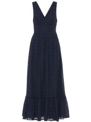 Платье макси классическое синее Heidi Klein