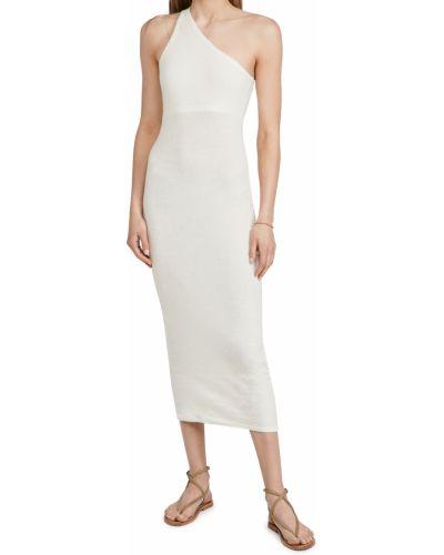 Текстильное платье макси Enza Costa