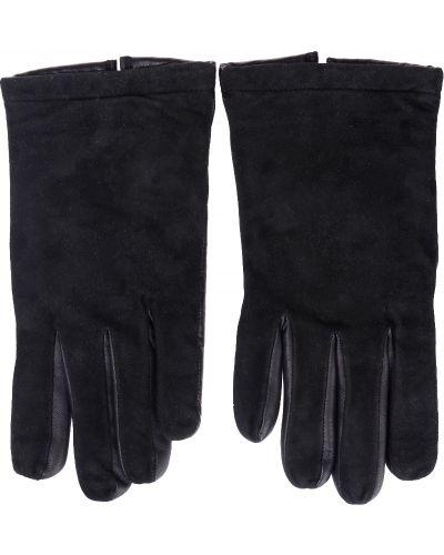 Кожаные перчатки замшевые Parola