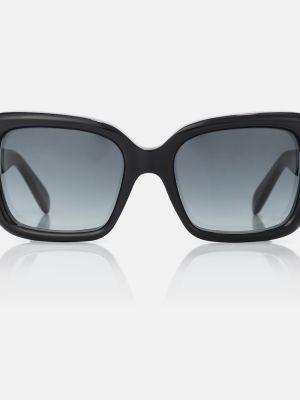 Черные солнцезащитные очки прямоугольные Céline Eyewear
