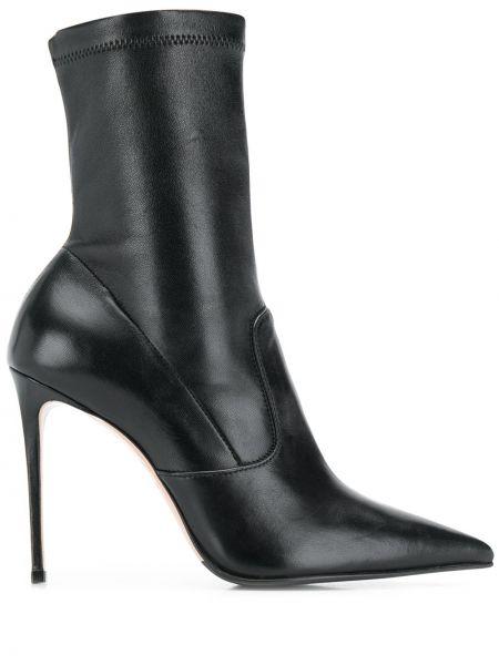Ботинки на каблуке на шпильке без каблука Le Silla