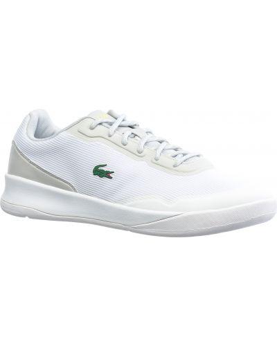 Белые кроссовки Lacoste