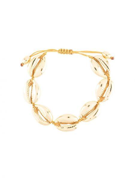 Złota bransoletka ze złota oversize Tohum