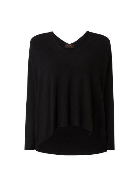 Sweter asymetryczny - czarny Miss Goodlife