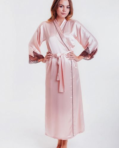Розовый домашний халат Mia-amore