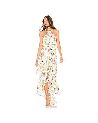 Платье на молнии шелковое Parker