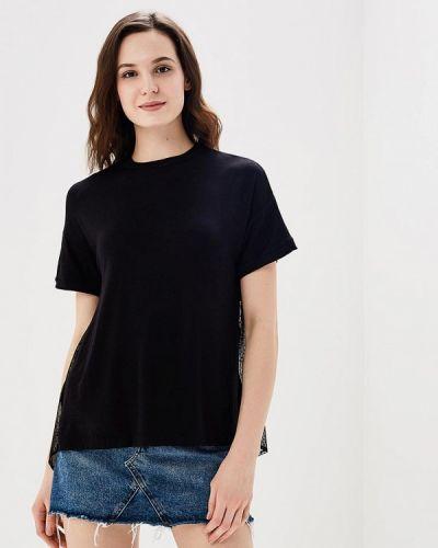 Черная футболка Befree