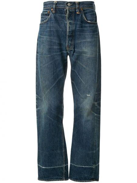 Klasyczne niebieskie jeansy bawełniane Fake Alpha X Levi's Vintage
