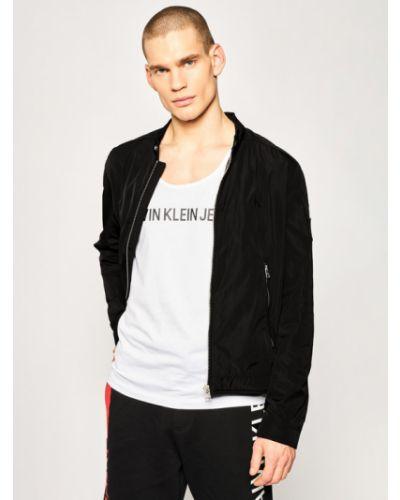 Czarna kurtka jeansowa Calvin Klein Jeans