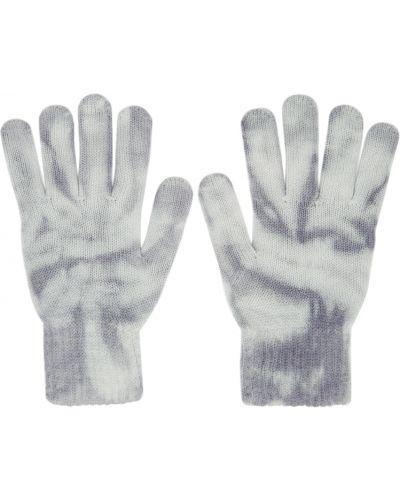 Niebieskie rękawiczki wełniane John Elliott