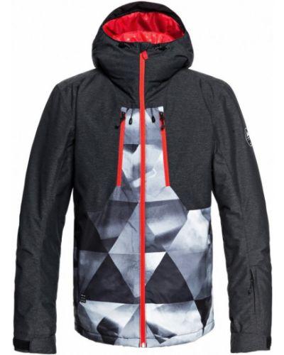Серая куртка горнолыжная Quiksilver