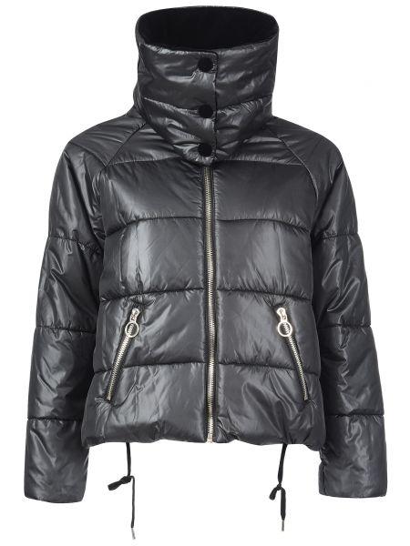 Куртка из полиэстера - черная Pinko