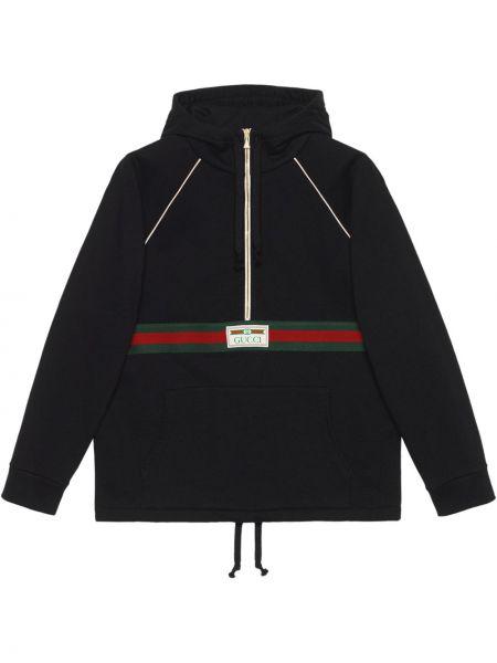 Bluza z kapturem - czarna Gucci