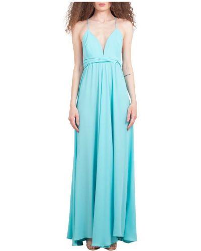 Niebieska sukienka Maesta