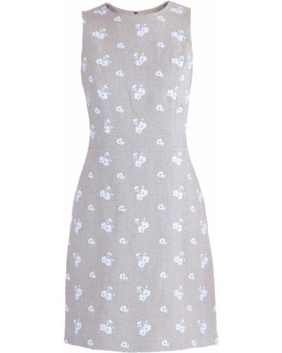 Платье мини с цветочным принтом с вырезом Michael Michael Kors
