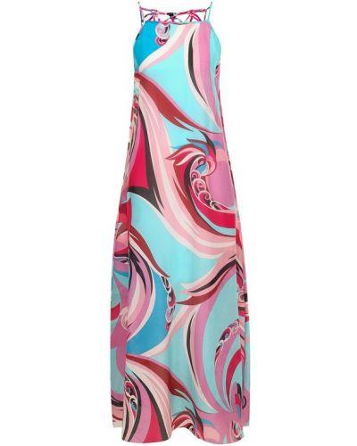 Платье свободного кроя хлопковое Emilio Pucci