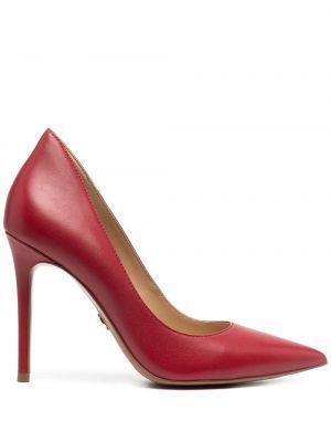 Красные туфли-лодочки на каблуке на высоком каблуке Michael Michael Kors