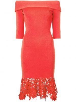 Czerwona sukienka koronkowa Sachin & Babi