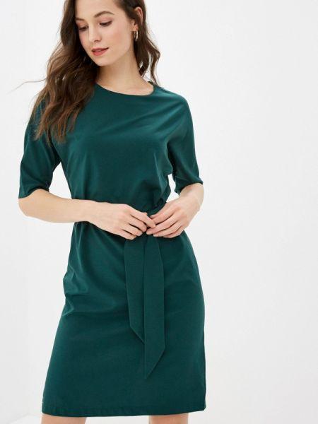 Платье прямое зеленый Gabriela